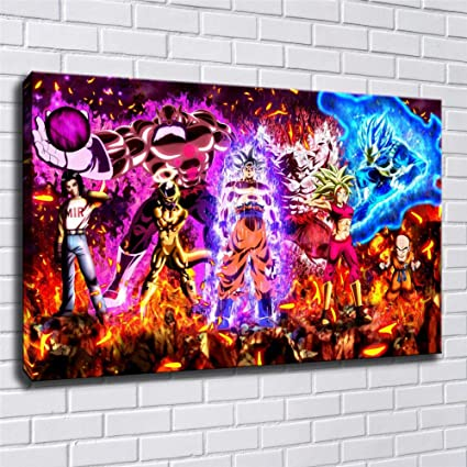 Darth Maul poster HD Canvas prints Home Decor room Wall art picture 12X18inch