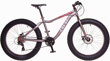 Crest Bicicleta Fat Bike Fat 4,1 24v griss 17