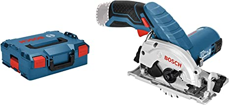 Bosch Professional Scie Circulaire Sans Fil GKS 12V-26 Solo (12V, Ø de la lame de scie: 85 mm, L-Boxx)