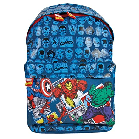 781f1f270f Zaino Bambino Marvel Avengers - Zainetto per asilo e scuola con Capitan  America, Iron Man