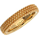 Joop! Damen-Ring 925 Sterling Silber gold plated JPRG90590B