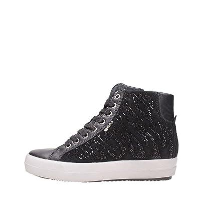 IGI&CO Zapatillas de Deporte de Cuña Interior Zapatos de Mujer 87734/00 Talla 38 Negro
