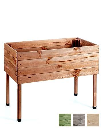 MyGardenlust Hochbeet Bausatz Aus Holz   Kräuterbeet Imprägniert Für Garten  Terrasse Und Balkon   Pflanzkübel Als