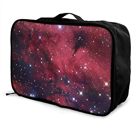 063487714cca Amazon.com | Travel Duffle Bag Galaxy Space Star Weekend Bags Water ...
