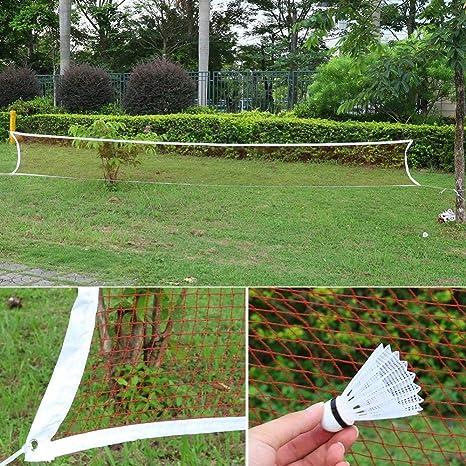 Alomejor Badminton-Netz Netz-Zubeh/ör professionelles Badminton-Training f/ür den Au/ßenbereich