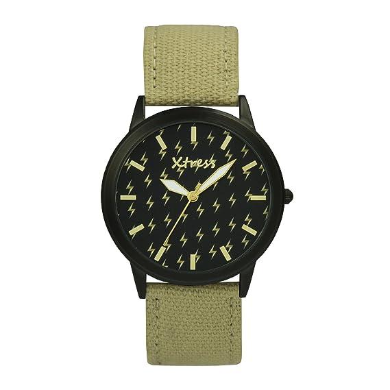 XTRESS Reloj Analógico para Hombre de Cuarzo con Correa en Nailon XNA1035-38: Amazon.es: Relojes