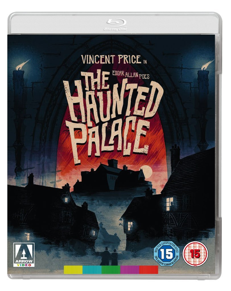 fall of the house of usher blu ray amazon co uk vincent price the haunted palace blu ray