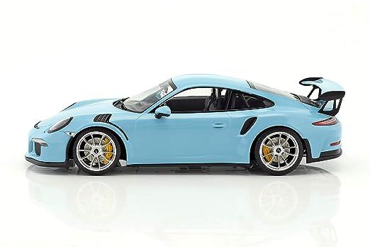 Minichamps - Porsche - 911/991 GT3 RS - 2015 Coche de ferrocarril de Collection, 153066235, Azul: Amazon.es: Juguetes y juegos