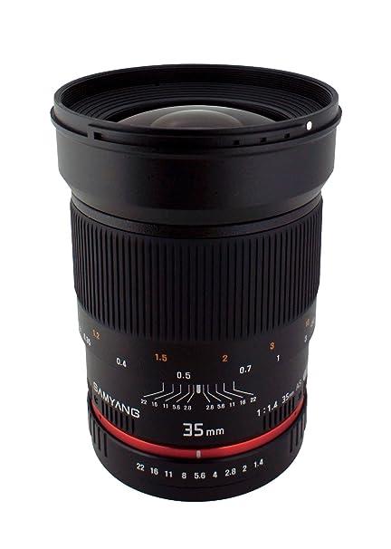 Amazon Samyang Sy35m C 35mm F14 Fixed Lens For Canon Camera