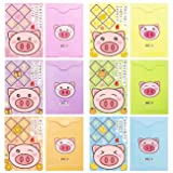 Chinese Red Envelopes, Cartoon Piggy Face Red
