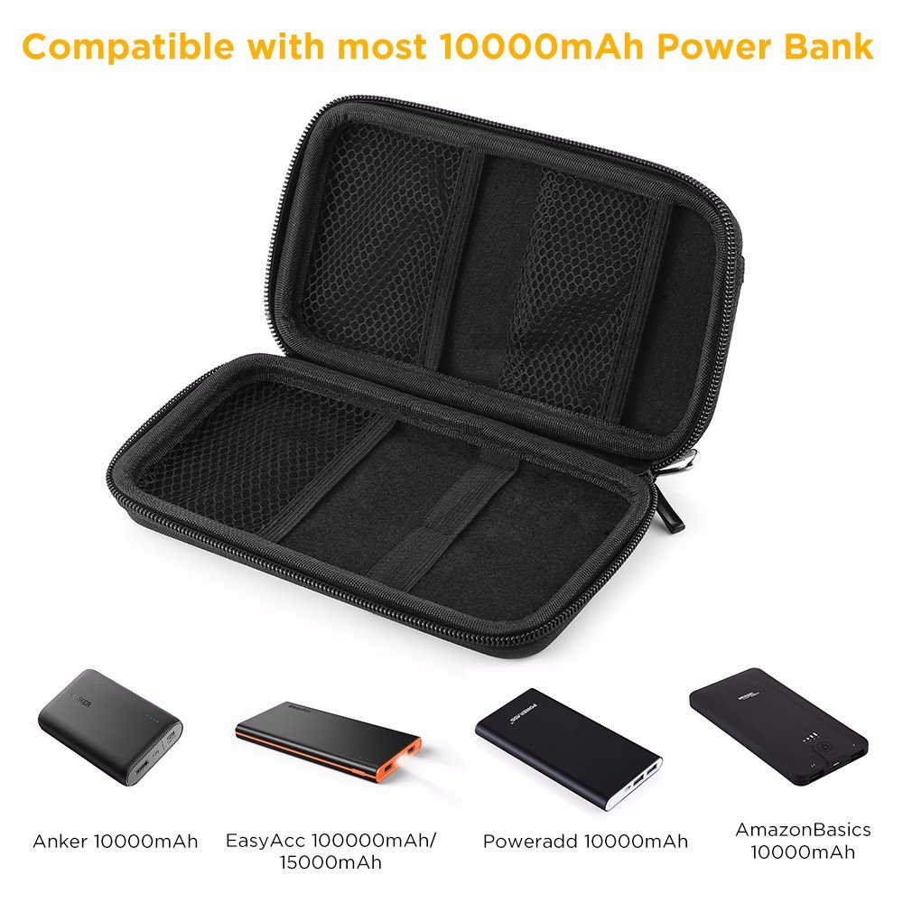 Easyacc Power Bank Case For Anker Powercore 10000mah Newtech 12000mah Original Jabodetabek Only External Batteries Ultra Compact High Speed Travel Protective Carrying