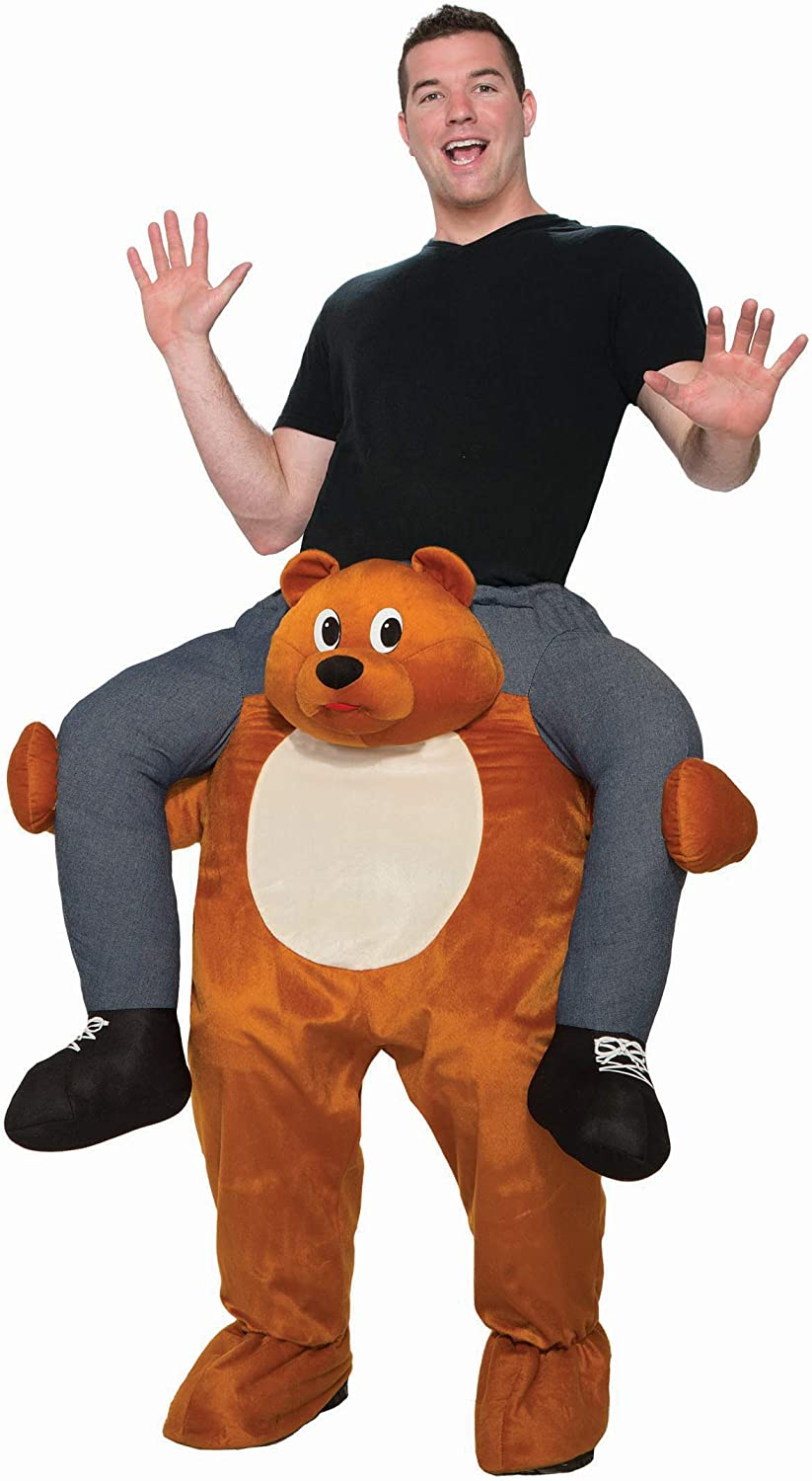 Adult's Ride-On Bear Costume