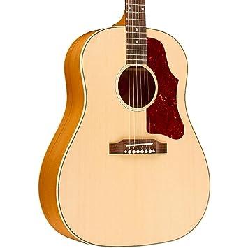 Gibson J50 redondo hombro envejecido natural acústica eléctrica guitarra electroacústica