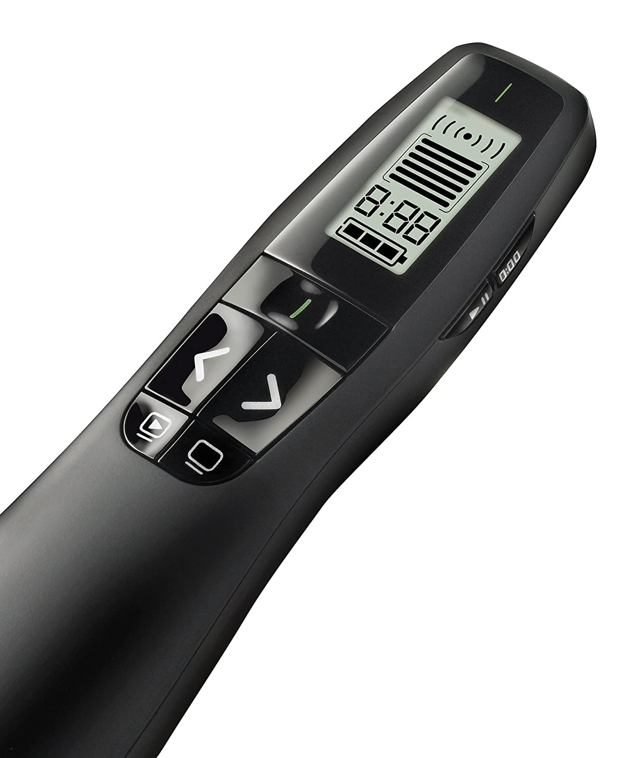 Amazon com logitech wireless presenter r800 with laser pointer green presentation remotes electronics
