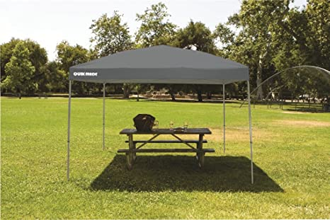 GAZEBO PLEGABLE QUIK SHADE 3 X 3 MT-MOD. SHADE COLOR GRIS: Amazon ...