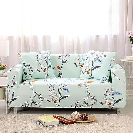 Stretch Printed Sofa Cover   Anti Slip Anti Wrinkle Sofa Slipcover  Lightweight Slip Resistant Sofa