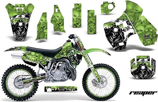 KAWASAKI KX 125 1999-2002 Full graphics kit SHIFT style custom stickers decals