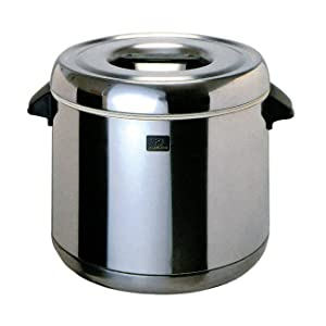 Zojirushi RDS-600 6-Liter Thermal Rice Warmer, Stainless Steel