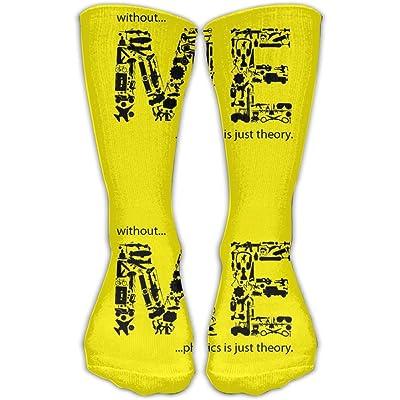 Unisex Tube Socks Crew ME Soccer Comfort Over The Calf Stockings For Sport And Travel