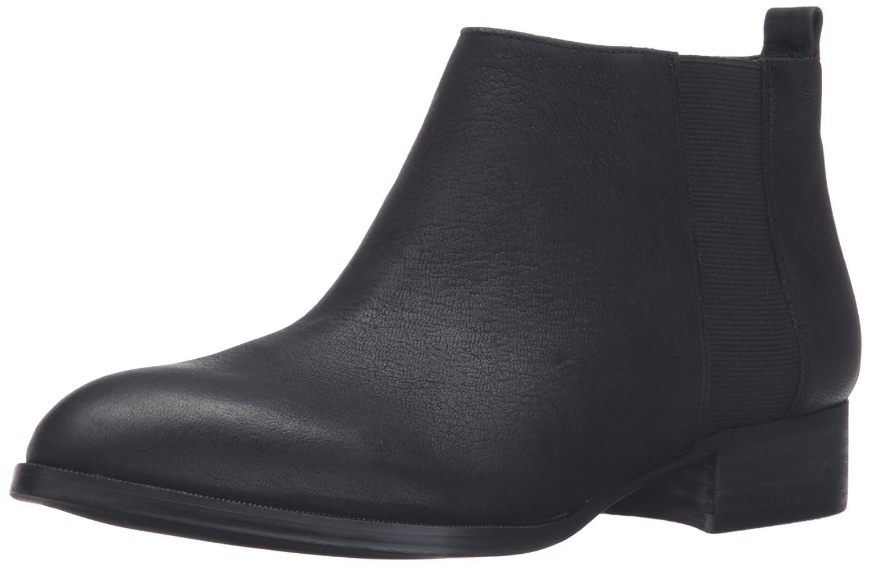 Nine West Women's Nolynn Leather Ankle Bootie B01DU0RMLG 8.5 B(M) US|Black