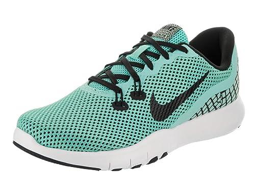1226a69fd1fa Nike Women s W Flex Trainer 7 Print Aurora Green Black-White Multisport  Training Shoes