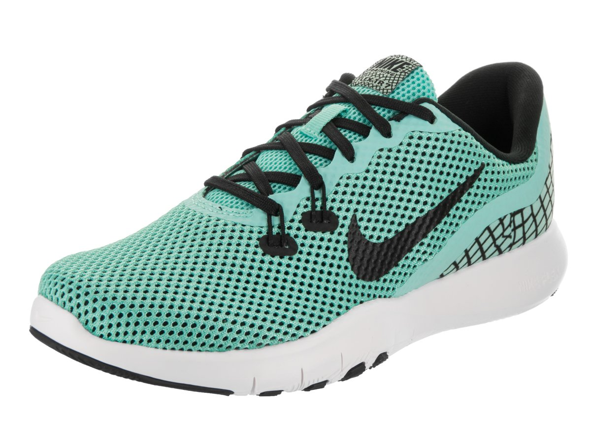 Nike Women's Flex Trainer 7 Print Cross-Training Shoes (7, Aurora Green)