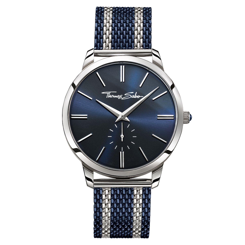 Thomas Sabo Herren-Armbanduhr WA0268-281-209-42 mm