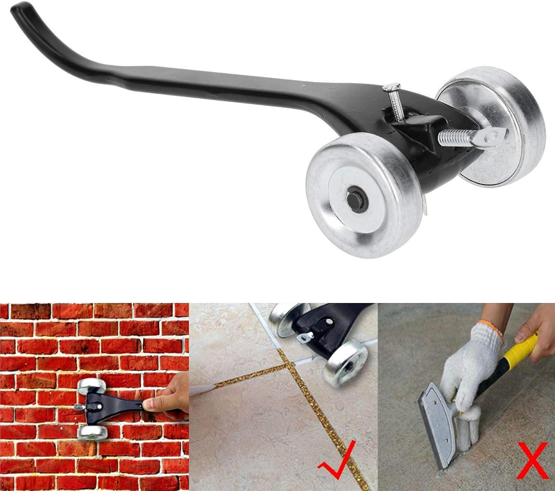 Brick Joint Raker Remover Skate Wheel Crack Clean Wall Trimming Tool Skate Wheel Joint Raker