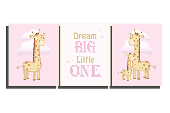 Amazon Com Pink Brown Tan Nursery Decorating Ideas Baby Girl