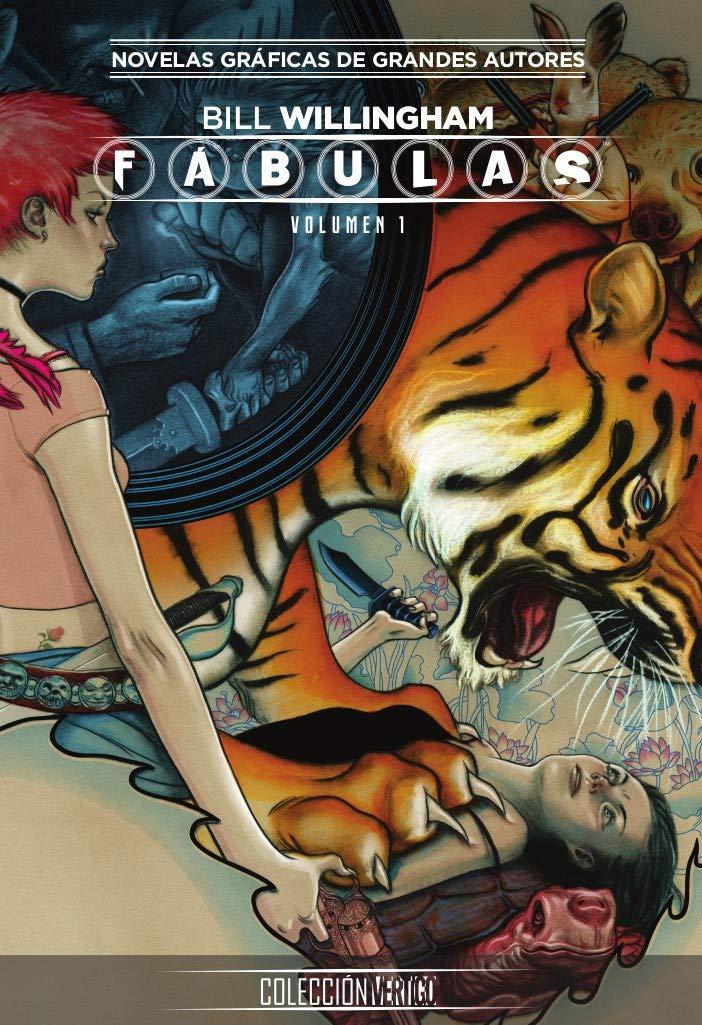 Colección Vertigo núm. 04: Fábulas 1 Tapa dura – 9 oct 2018 Bill Willingham ECC Ediciones 8417509909 Graphic novels