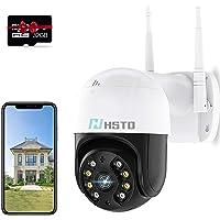Bewakingscamera voor buiten, wifi, 1080p, digitale zoom, dome wifi-camera, outdoor, draaibaar, bewegingsmelder, 30 m…