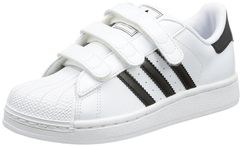 adidas Originals Boy s White Black Superstar 2 C Trainers 2.5 UK   Amazon.co.uk  Shoes   Bags 1f140a8ea