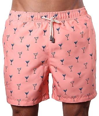 Men's Designer Swim Trunks | Peach Swim Shorts | Beachwear & Board ...