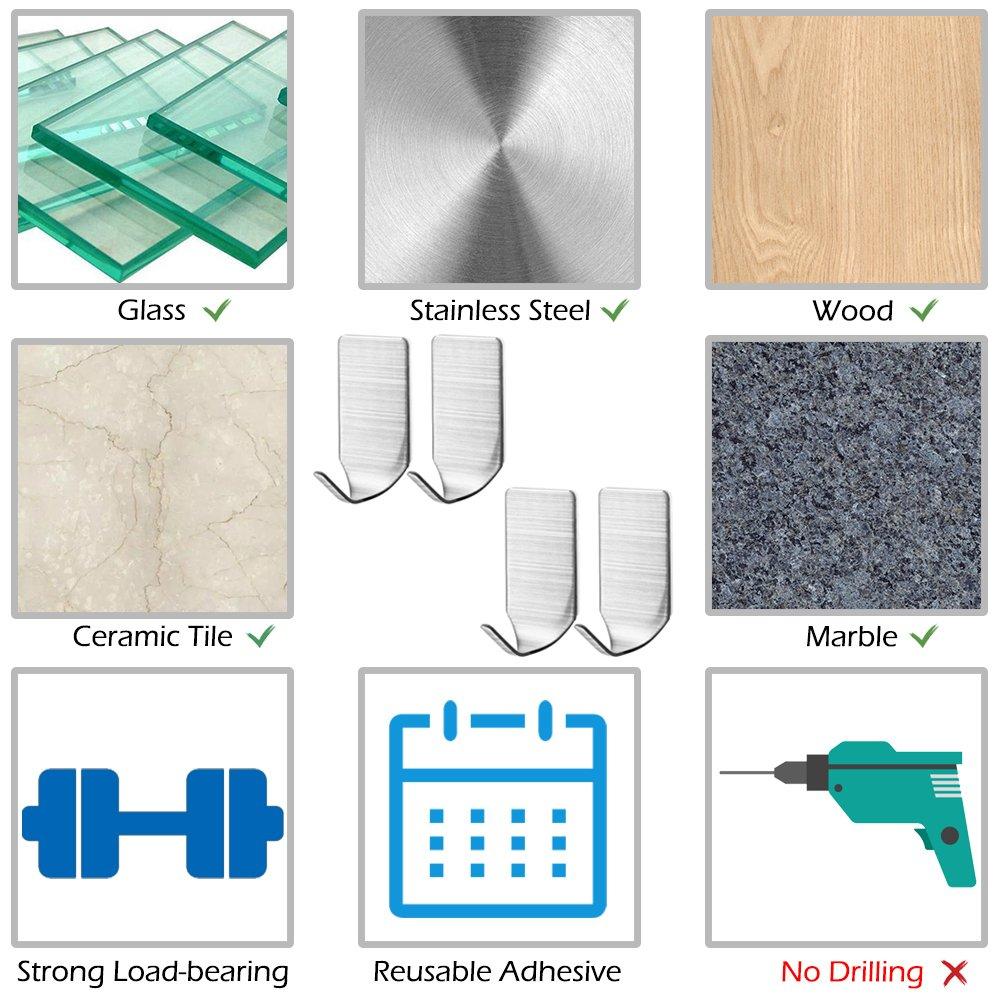 Classroom Pocket Chart With 4 Pcs Adhesive Hooks Afunta Hanging