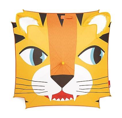 Janod - Tigre Paraguas clásico de 72 cm, Color Amarillo