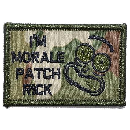 Amazon.com  I m Morale Patch Rick - 2x3 Morale Patch - Multicam ... 3de92c8a958