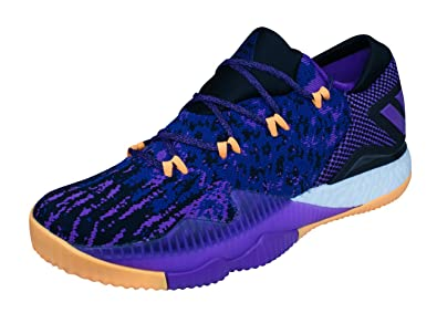 8d41082f4a1a adidas Crazylight Boost Low 2016 Primeknit Mens Basketball Sneakers Shoes -Purple-15