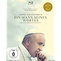 Papst Franziskus - Ein Mann seines Wortes  (mit Buch zum Film) [Blu-ray]