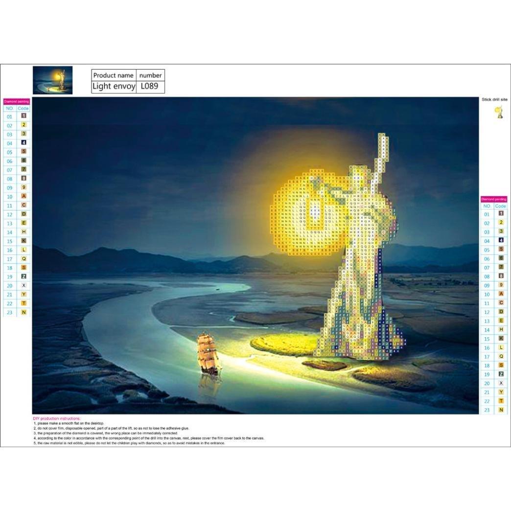 Rose Xshuai Diamant Painting DIY 5D Voller Diamant Stickerei Kreuzstich Bilder Kunst Handwerk Wird Nicht verblassen Dekoration f/ür Wohnzimmer Schlafzimmer 40x30 cm