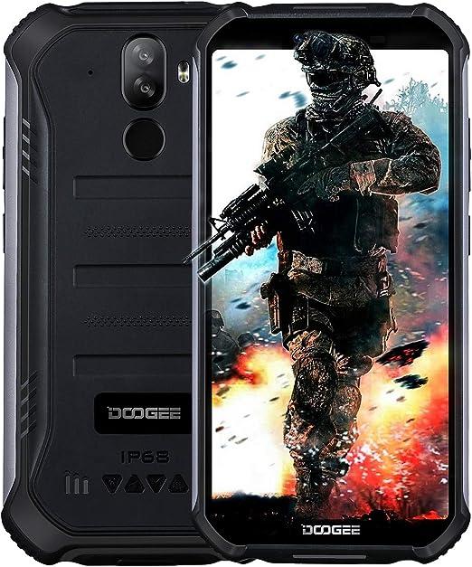2019】 DOOGEE S40 4G Android 9.0 Sólido Móvil Libre Robusto ...