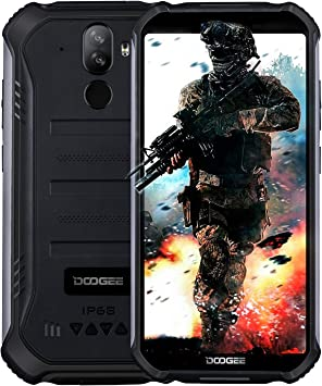 2019】 DOOGEE S40 4G Android 9.0 Sólido Móvil Libre Robusto ...