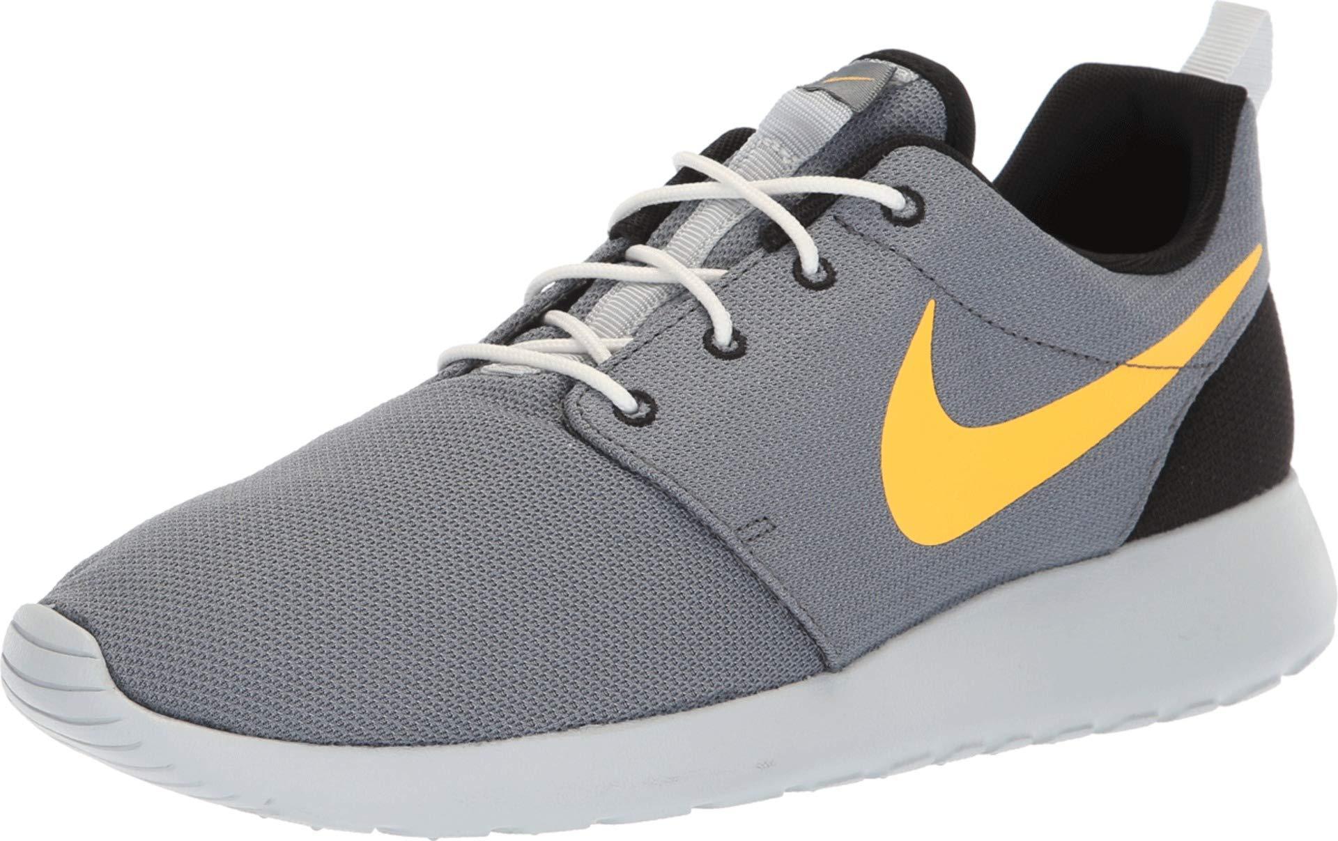 reputable site a5eac 78053 Galleon - Nike Men s Roshe One Running Shoes, Cool Grey Laser Orange-  Platinum, 12