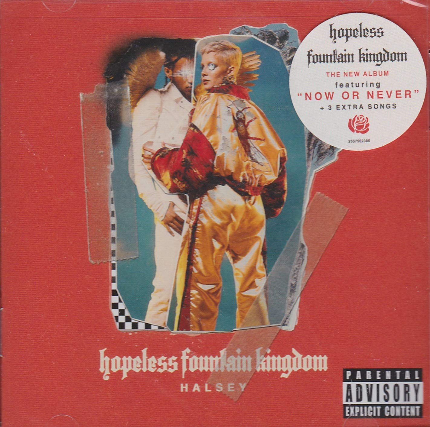 HALSEY Hopeless Fountain Kingdom LIMITED EXPANDED TARGET ED CD