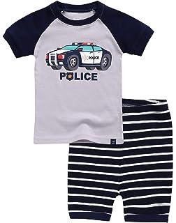 VAENAIT BABY 12M-8 Toddler Kids Girls Boys Cotton 100/% Short Sleepwear Pajamas Pjs Set Shark Dino Car 2pcs Set