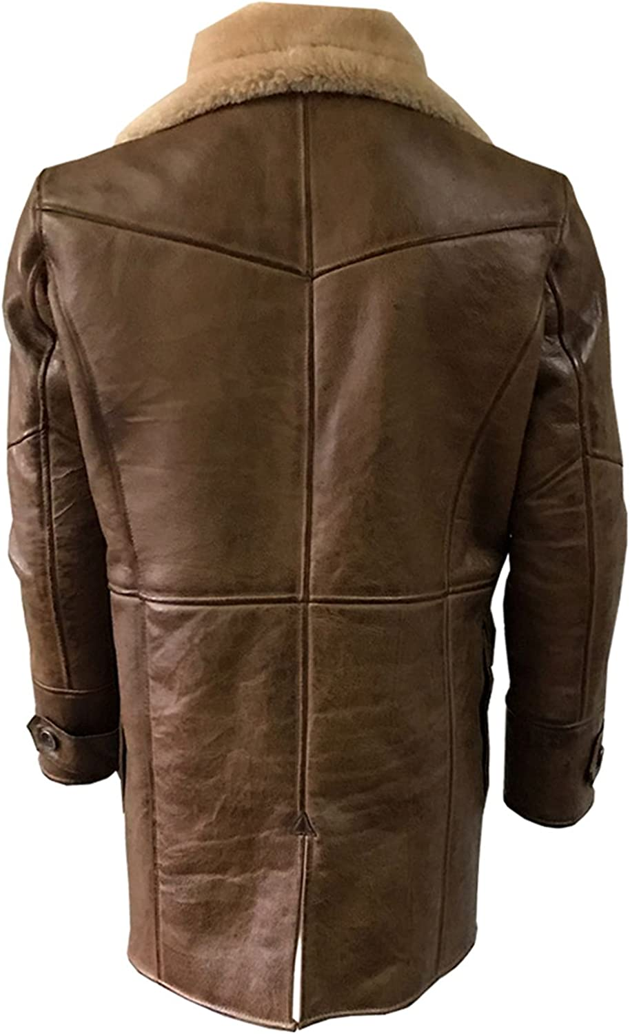 Gen1leather GN1 Shearling Brown Leather Coat