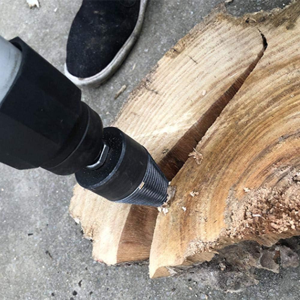 Wood Log Splitter Auger Splitting Screw Cone Wood Breaker Tool Wood Splitting Drill,Splitting Wood Cone Drill Bit