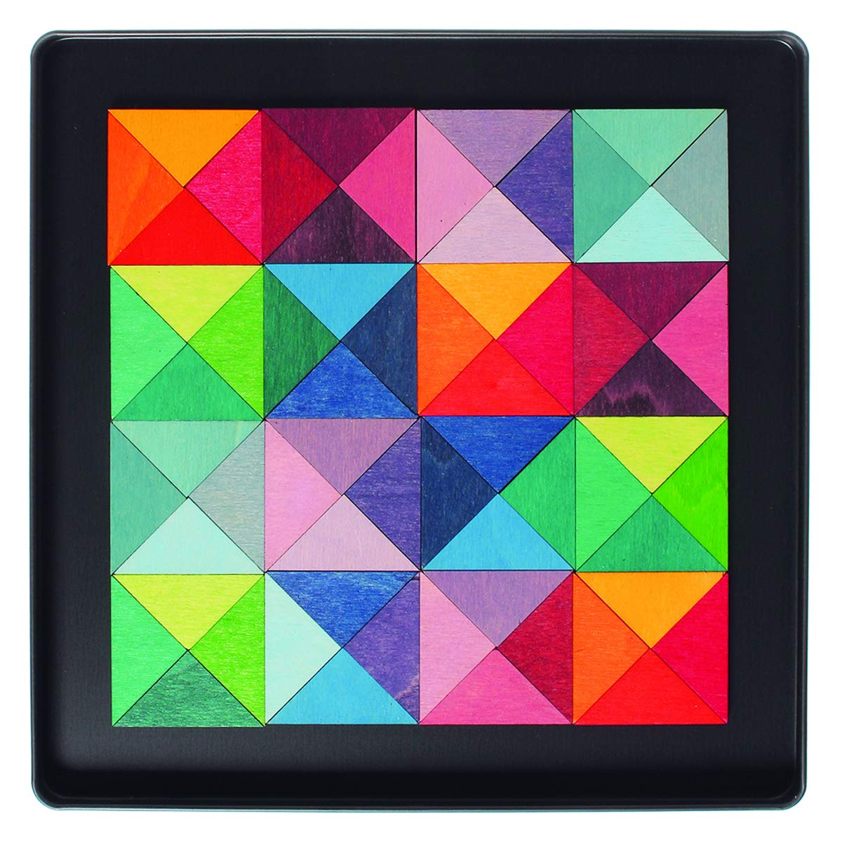 Mini-Magnetspiel Dreiecke