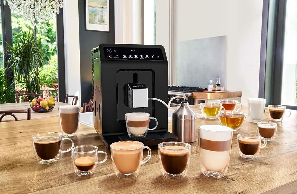 Krups Evidence Espresso EA8918 - Cafetera De Grano Superautomática