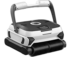 AIPER SMART Automatic Robotic Pool Cleaner with Powerful Dual-motors, Large Top Load Cartridge Filter, Tangle-Free Swivel Cor