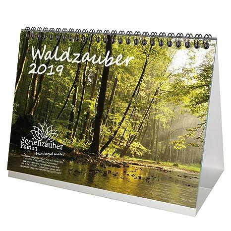 Calendario Bosque Magico 2019.Bosque Magico Din A5 Premium Mesa Calendario 2019